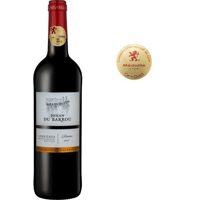 Johan du Barrou Réserve 2018 Corbières - Vin rouge de Languedoc