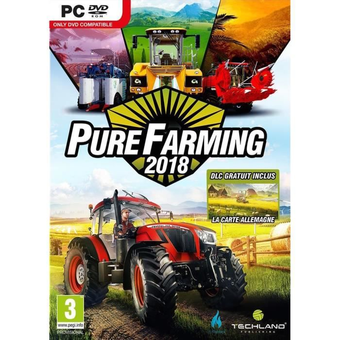 Pure Farming 2018: Day One Edition Jeu PC + 2 bonus de précommande