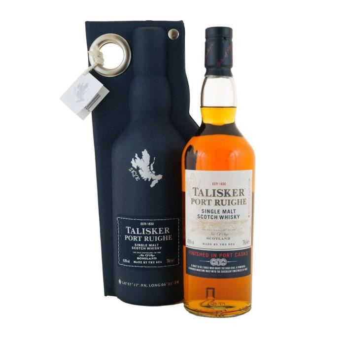 Talisker - Port Ruighe - Single Malt Scotch Whisky - 45,8% - 70 cl - Edition Limitée
