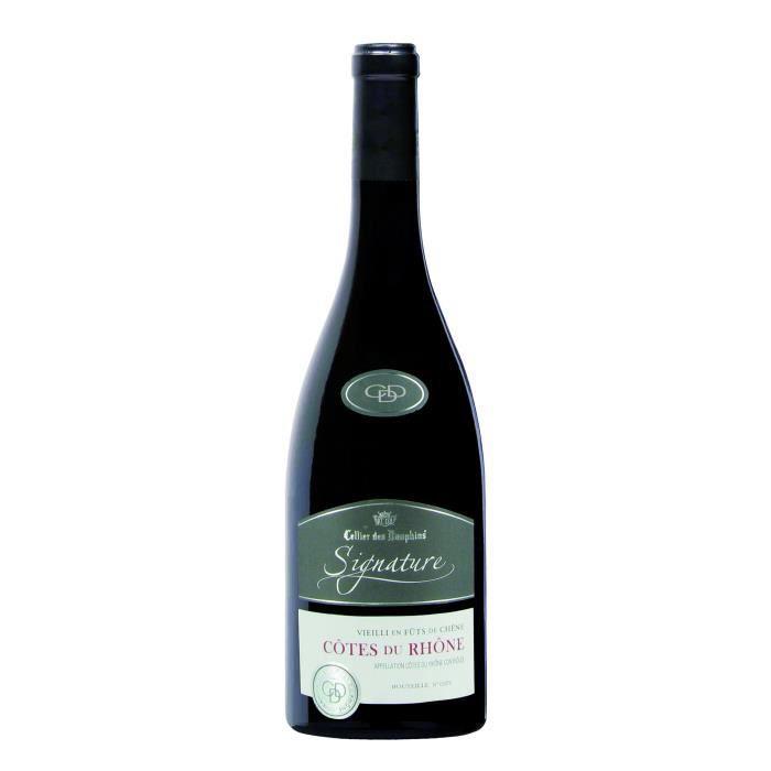 Cellier Des Dauphins Signature Côtes du Rhône - Vin rouge des Côtes du Rhône