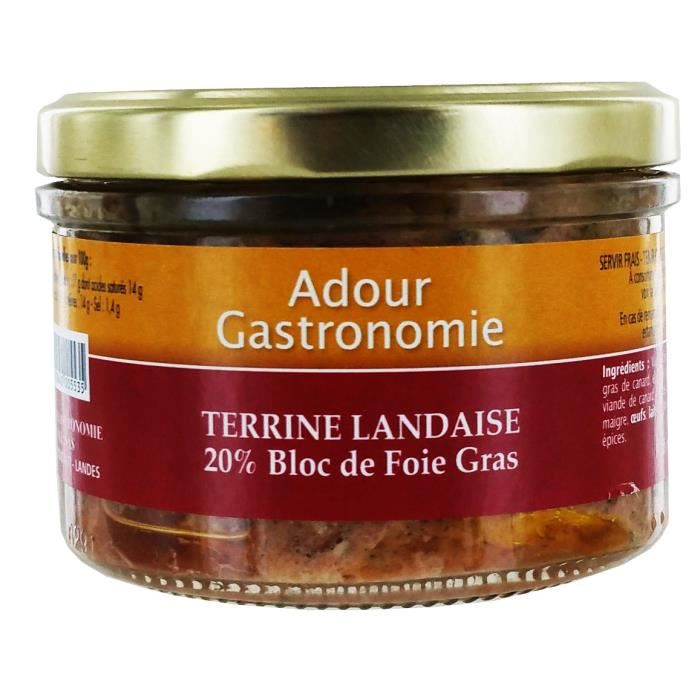 Terrine Landaise (20% Bloc)