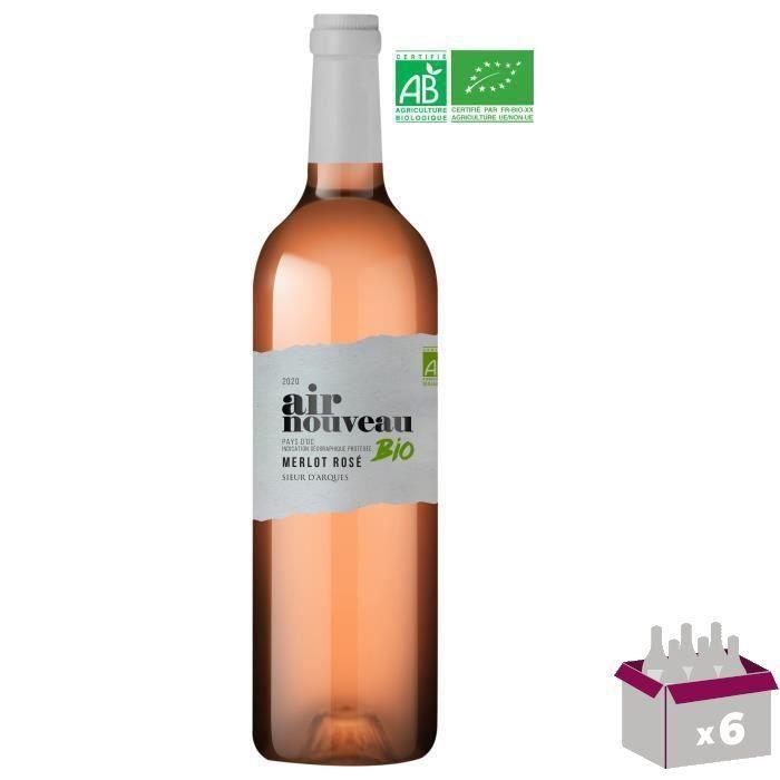 Air Nouveau Pays d'Oc - Vin rosé de Languedoc-Roussillon - Bio