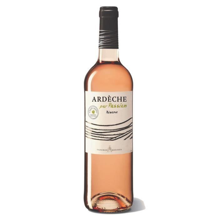 Vignerons Ardéchois 2019 Côteaux de l'Ardèche - Vin rosé de la Vallée du Rhône