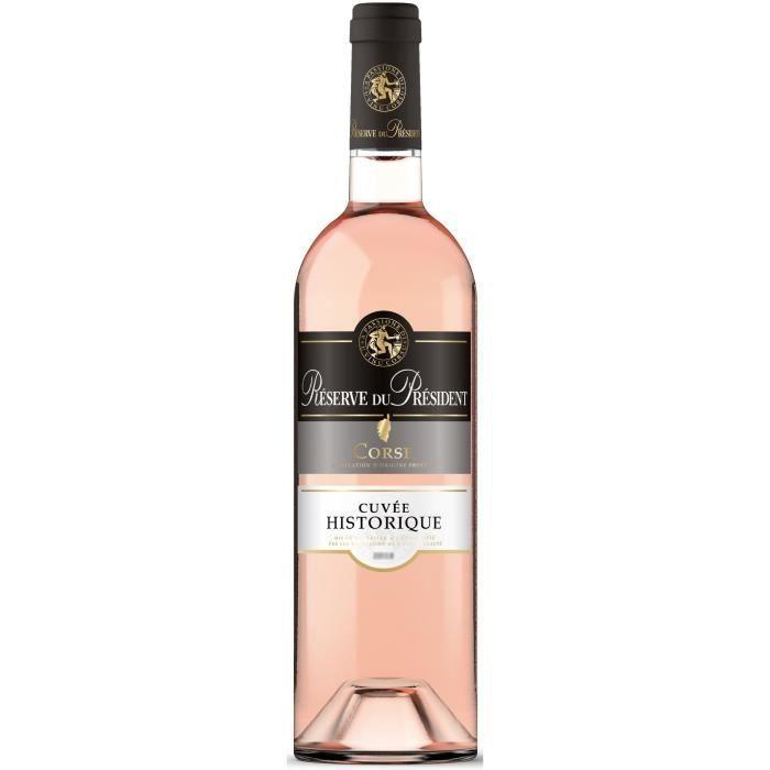 Réserve du Président Corse - Vin rosé de Corse