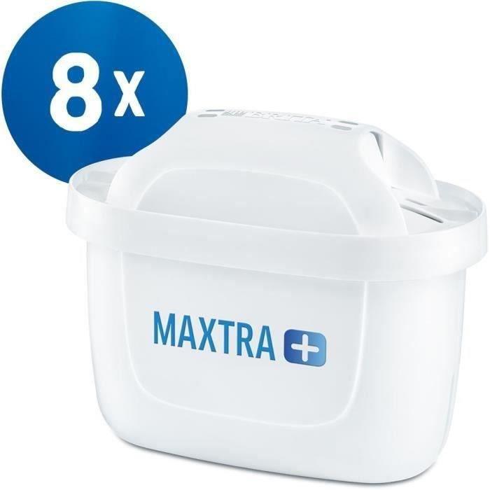 BRITA Pack 8 cartouches MAXTRA+ pour carafes filtrantes
