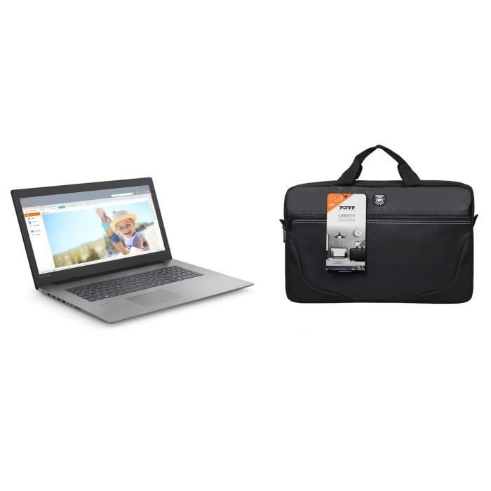Lenovo pc portable ideapad 330 173 fhd 4go 16go optane i5 8300h gtx 1050 2go 1to port designs sacoche liberty iii
