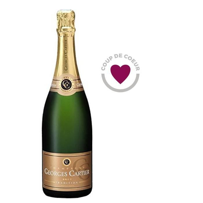 Champagne Georges Cartier Tradition Brut - 75 cl