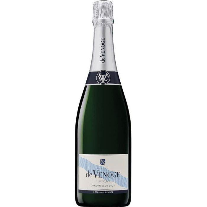 Champagne De Venoge Cordon Bleu Brut - 75 cl