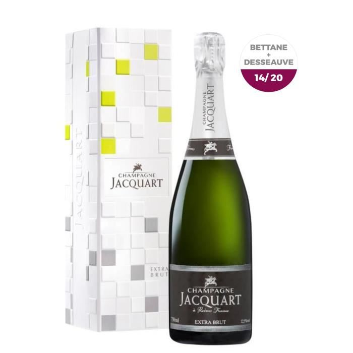 Champagne Jacquart Extra Brut - 75 cl