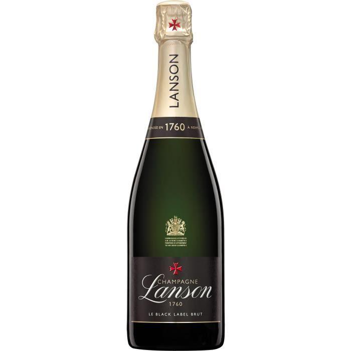 Champagne Lanson Le Black Label Brut - 75 cl