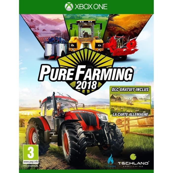 Pure Farming 2018: Day One Edition Jeu Xbox One + 2 bonus de précommande