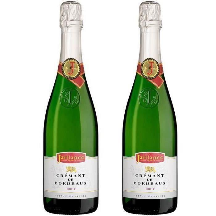 2ème à -50% - Jaillance Crémant de Bordeaux