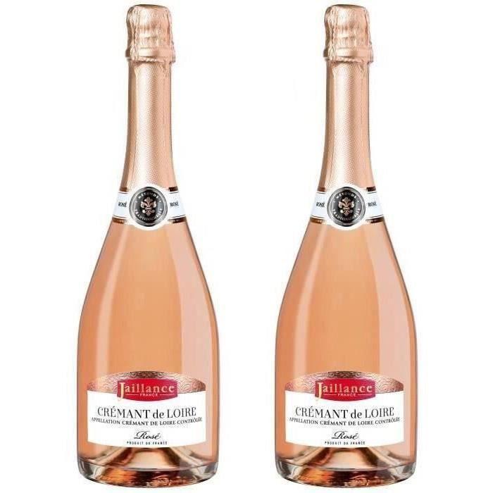 2ème à -50% - Jaillance Crémant de Loire Rosé