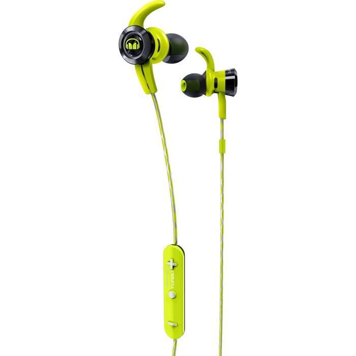 MONSTER ISPORT VICTORY Ecouteurs Sport intra-auriculaires Bluetooth Verts