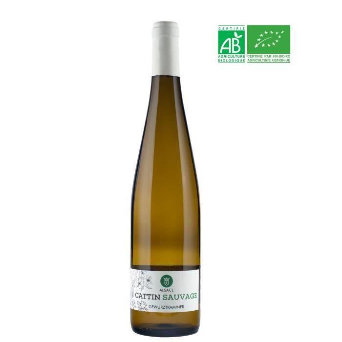 Cattin Sauvage 2018 Gewurztraminer - Vin blanc d'Alsace