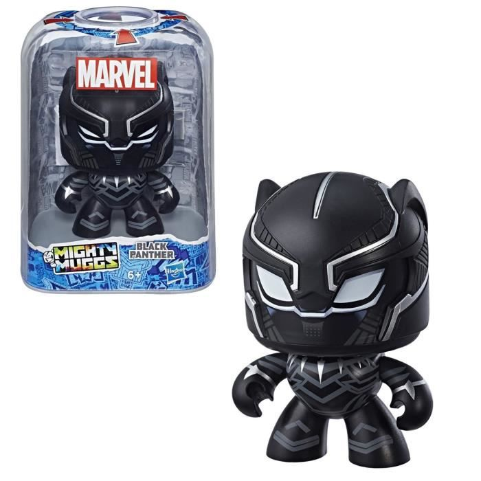 MIGHTY MUGGS MARVEL - BLACK PANTHER - Figurine 15cm