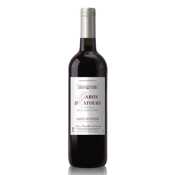 Baron d'Estours du Château Tour Saint-Fort 2001 Saint-Estèphe - Vin rouge de Bordeaux