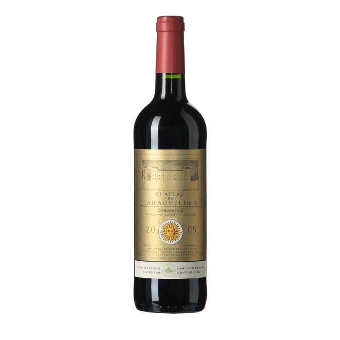 Château de Caraguilhes 2005 Corbières - Vin rouge du Languedoc Roussillon - Bio