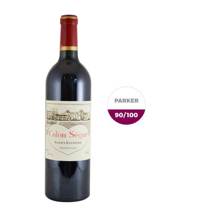 Château Calon Ségur 2011 Saint Estèphe Grand Cru - Vin rouge de Bordeaux