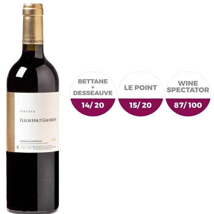 Château Fleur Haut Gaussens 2011 Bordeaux Supérieur - Vin rouge de Bordeaux