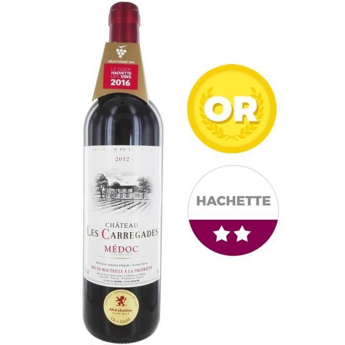 Château Les Carregades 2012 Médoc - Vin rouge de Bordeaux