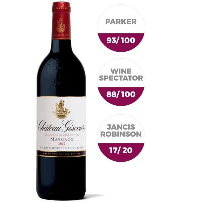 Château Giscours 2012 Margaux 2012 - Vin rouge de Bordeaux