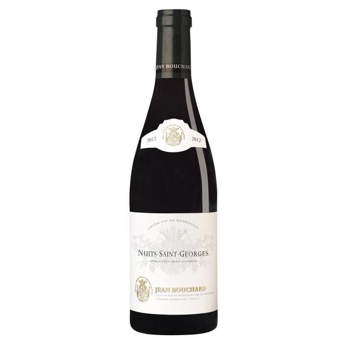 Jean Bouchard 2012 Nuits-Saint-Georges - Vin rouge de Bourgogne