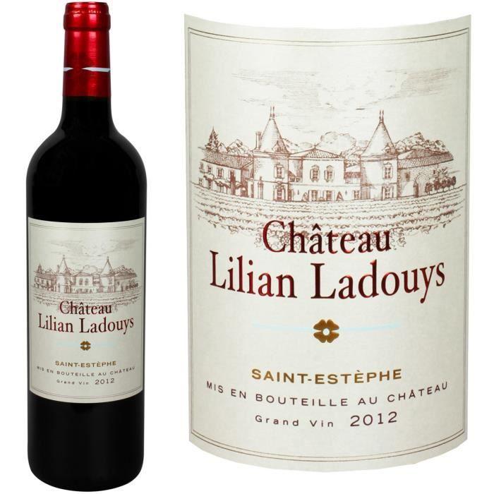 Château Lilian Ladouys Saint-Estèphe 2012 - Vin...