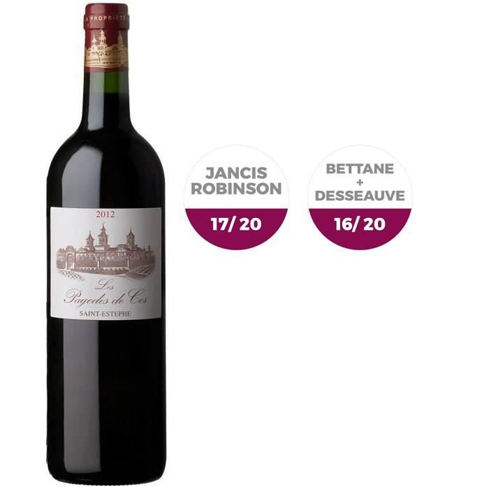 Les Pagodes de Cos 2012 Saint-Estèphe - Vin rouge de Bordeaux