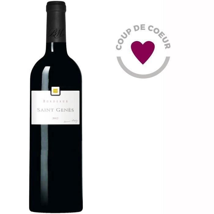 BERNARD MAGREZ Saint-Genès 2012 Bordeaux - Vin rouge de Bordeaux