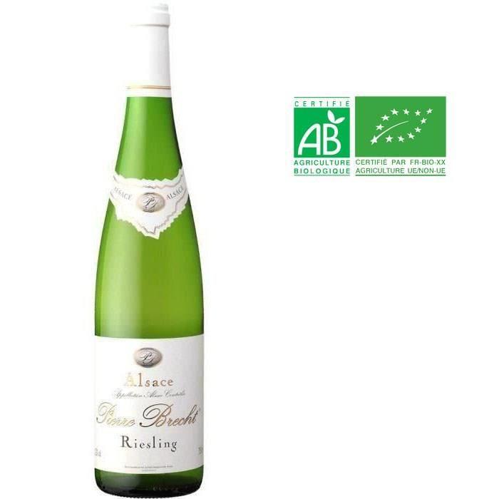Pierre Brecht Riesling - Vin blanc d'Alsace