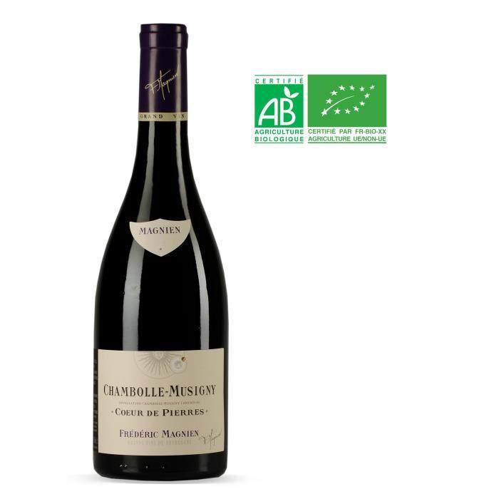 Frédéric Magnien Cœur de Pierres 2013 Chambolle-Musigny - Vin rouge de Bourgogne - Bio