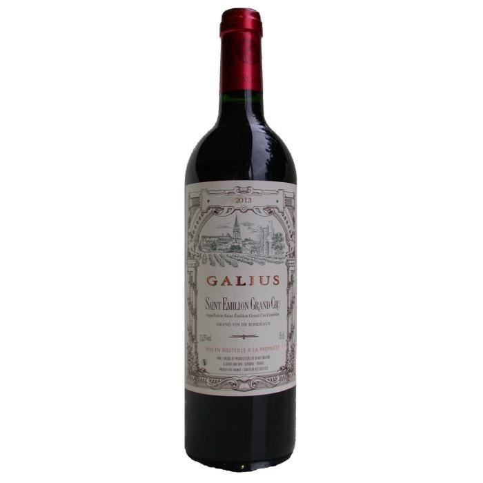 Galius 2013 Saint-Emilion Grand Cru - Vin rouge de Bordeaux