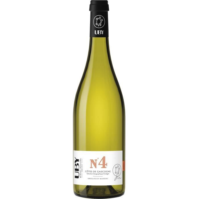 UBY N°4 Gros et Petit Manseng - Vin blanc des Côtes de Gascogne