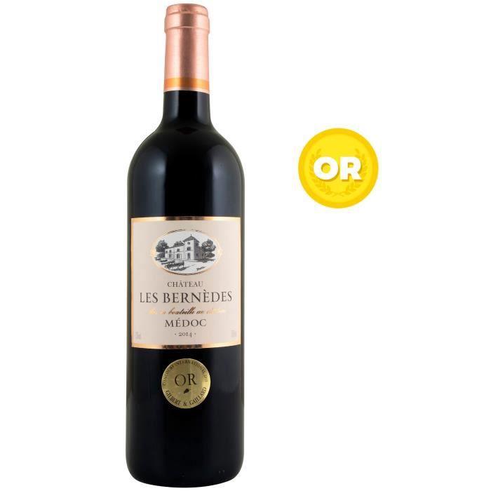 Château Les bernèdes 2014 Médoc - Vin rouge de Bordeaux