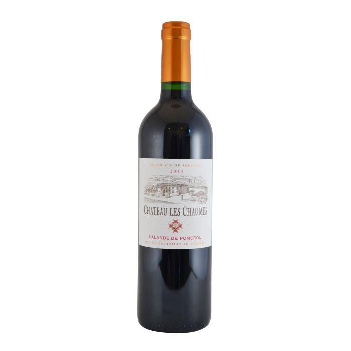 Château Les Chaumes 2014 Lalande de Pomerol - Vin rouge de Bordeaux