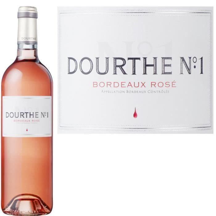 Dourthe N°1 2019 Bordeaux - Vin rosé de Bordeaux