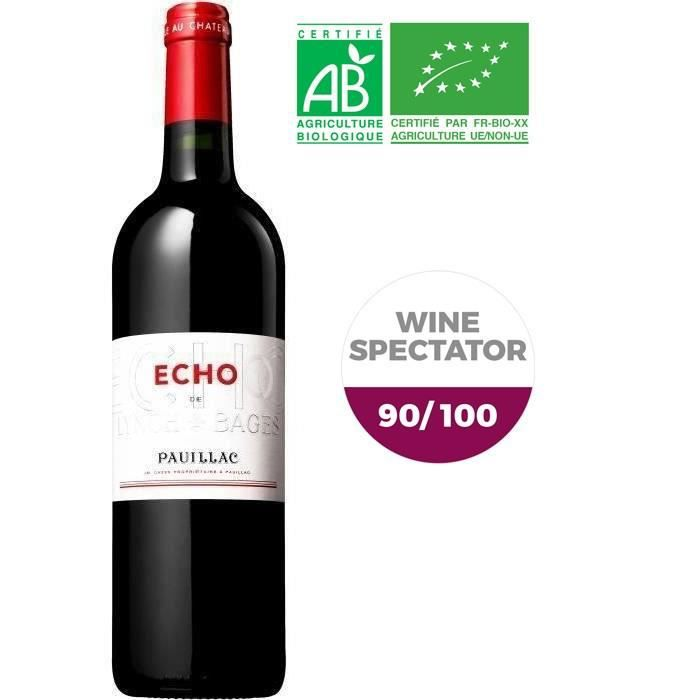 Echo de Lynch Bages 2014 Pauillac - Vin rouge de Bordeaux - Bio