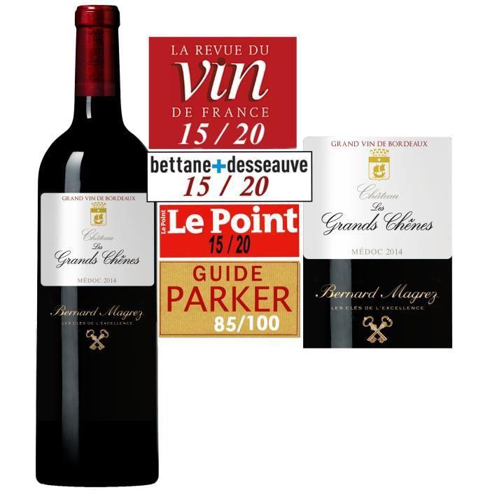 Château Les Grands Chênes 2014 Médoc - Vin rouge de Bordeaux