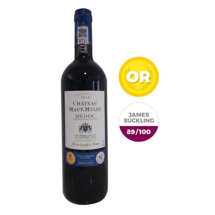 Château Haut Myles 2014 Médoc Cru Bourgeois – Vin rouge de Bordeaux