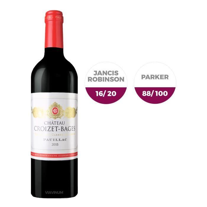Château Croizet-Bages 2015 Pauillac - Vin rouge de Bordeaux
