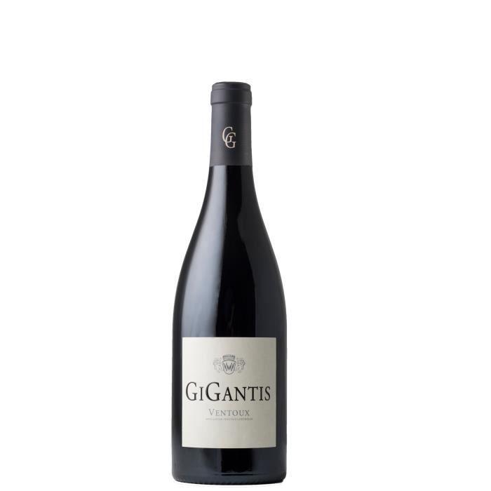 Vignerons du Mont Ventoux Gigantis 2016 Ventoux - Vin Rouge de la Vallée du Rhône