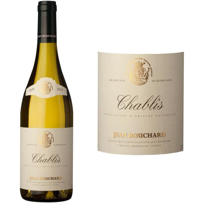 Jean Bouchard 2015 Chablis - Vin blanc de Bourgogne