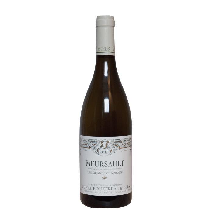 Michel Bouzereau 2015 Meursault Les Grands Charrons - Vin blanc de Bourgogne