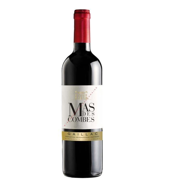 Mas des Combes 2015 Gaillac - Vin rouge du Sud-ouest