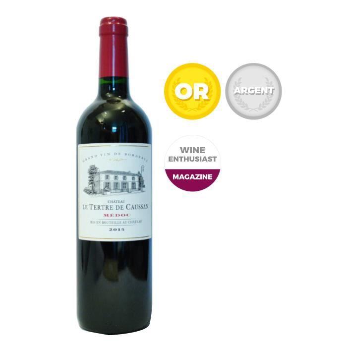 Château le Tertre de Caussan 2015 Médoc - Vin rouge de Bordeaux