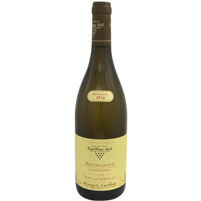 Domaine François Carillon Cuvée le Vieux Clos 2016 Bourgogne - Vin blanc de Bourgogne