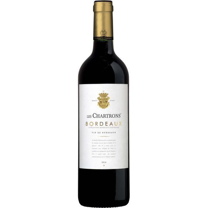 Les Chartrons 2016 Bordeaux - Vin rouge de Bordeaux