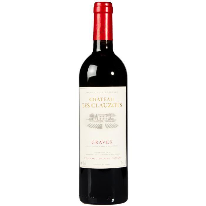 Château Les Clauzots 2016 Graves - Vin rouge de Bordeaux