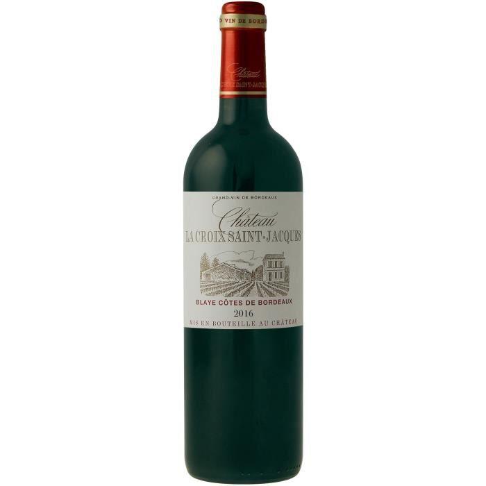 Château La Croix Saint Jacques 2016 Blayes Côtes de Bordeaux - Vin rouge de Bordeaux